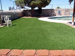 Patio Artificial Grass Turf Grass Solomon Arizona Paver Patio Natural Swimming Pools