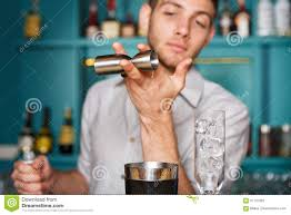 barman s hands making alcohol cocktail stock photo image 91101023