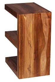 beistelltische landhaus wohnling beistelltisch wl1 304 massivholz sheesham