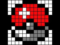 minecraft pixel art template pokeball youtube