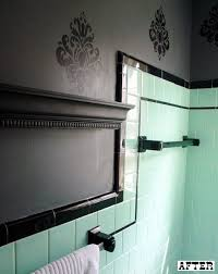 Bathroom Ideas Vintage Colors Best 25 Mint Green Bathrooms Ideas On Pinterest Green Bathroom