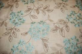 embroidered home decor fabric hda019 floral embroidered linen flower garden crewel light home