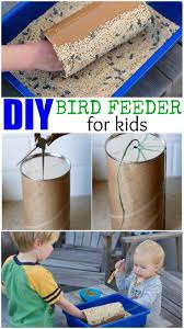 diy bird feeder for kids inspired by americano a crafty spoonful