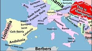 Europes Map by Europe Map By Hungarians Youtube