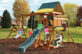 looking to buy the big backyard adelaide station wooden play set