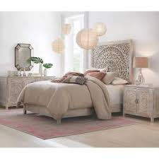 Home Decorators Headboards | home decorators collection chennai white wash queen platform bed