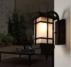outdoor wall lamps retro porch light art deco wall lanterns iron