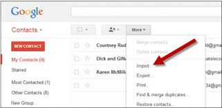 how to import contacts from gmail to android how to export contacts from windows phone to android