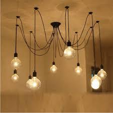 nordic vintage chandelier lamp pendant lamps e27 e26 edison