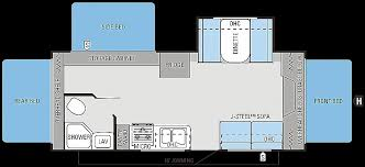 triple bunk travel trailer floor plans triple bunk travel trailer floor plans elegant 2014 jay feather