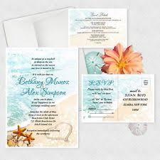 starfish wedding invitations wedding invitations ebay