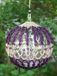 cool ideas for beaded ornaments beaded