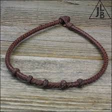 braided leather necklace images 6 strand braid leather necklace leather braiding by john JPG