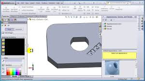 module 3 solid works cut and extrude text youtube