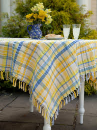 provence seersucker tablecloth attic sale linens kitchen