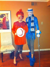 coolest last minute heat miser and snow miser couple costumes