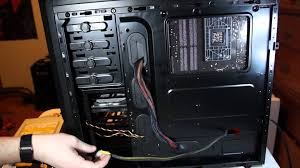 how to manage cables in your gaming pc basic cable management