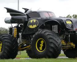 monster truck videos for batmobile monster truck geektyrant