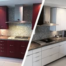 Thermofoil Cabinet Refacing Usakitchen Custom Kitchen Cabinet Refacing Miami