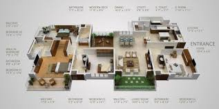 5 bedroom 1 house plans 5 bedroom house plans single 3 d chic 3 4 1 17 best about