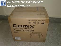 personal paper shredder cross cut model comix s340 price in pa