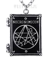 shaped necklace images Necronomicon book quot locket pendant book shaped necklace occult jpg