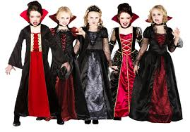 halloween costumes for kids girls vampire looks