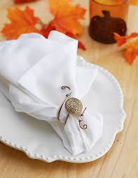 button napkin rings craft ideas eatwell101
