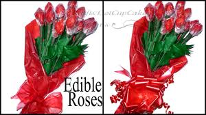 diy how to make edible hershey kisses rose bouquet valentine u0027s