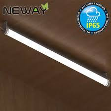 High Efficiency Fluorescent Light Fixtures 28w40w52w Ip65 Waterproof Led Ceiling Mount Ceiling Ls