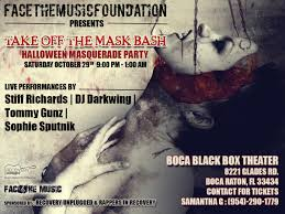 take off the mask bash tickets in boca raton fl united states