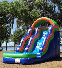 water slide rentals renting a water slide orlando fun party