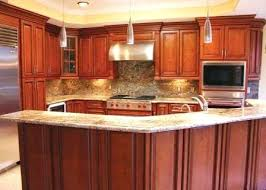 cherry wood kitchen cabinets home depot for sale solid