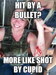 Meme Shot - hit by a bullet more like shot by cupid ridiculously photogenic