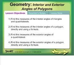 Interior Angles Of Polygon Smart Exchange Usa Interior And Exterior Angles Of Polygons