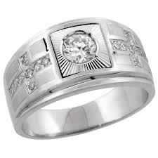 mens double rings images Men 39 s rings jpg
