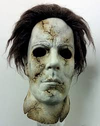 michael myers mask dela torre buried michael myers mask