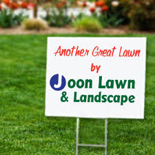 lawn signs and political yard signs printed in color