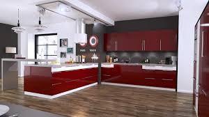 bois cuisine cuisine et bois glänzend cuisine mod le schmidt moderne