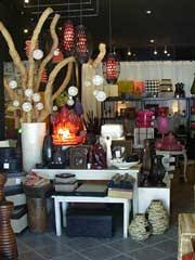 home decor and asian home accents in bali island indonesia