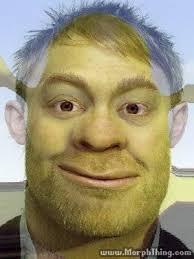 Thom Yorke Meme - shrek thom yorke morphed morphthing com