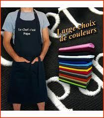 cuisine personnalis tablier de cuisine personnalisé pas cher inspirational tablier