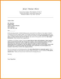 absence letter format choice image letter samples format