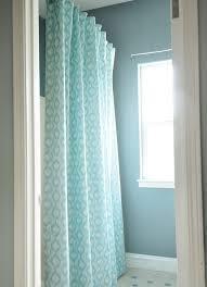 Aqua Blue Shower Curtains Curtain Ideas Diy Decorate The House With Beautiful Curtains