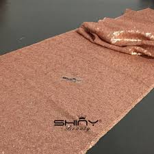 sequin table runner wholesale 14 x120 blush sequin table runners tiny runners wholesale sequin