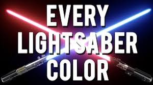 Light Saber Color Meanings Star Wars Lightsaber Colors Meanings Free Videos