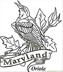 baltimore orioles coloring pages kids coloring