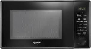 black friday microwave deals sharp 1 1 cu ft mid size microwave black r309yk best buy