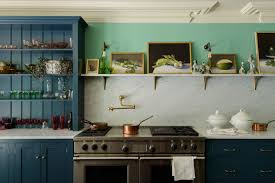 what backsplash looks with cabinets backsplashes a one step kitchen makeover los angeles times