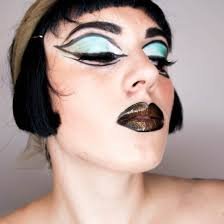 cleopatra halloween makeup face of the day cleopatra halloween makeup u2039 the dress up box